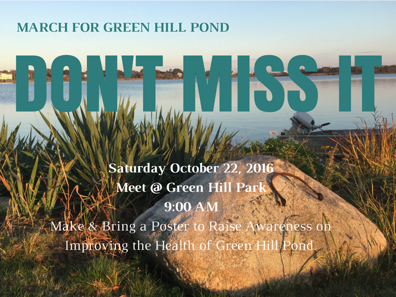 Green Hill Pond March