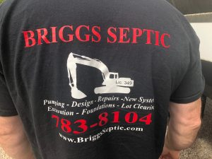 Briggs Septic Inc of Rhode Island T Shirt