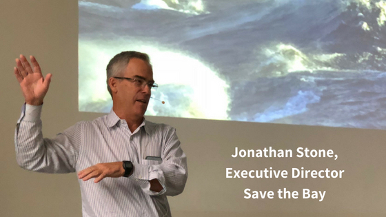 Jonathan Stone, Executive Director of Save the Bay
