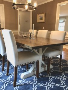 A Rick Black Dining Room Table