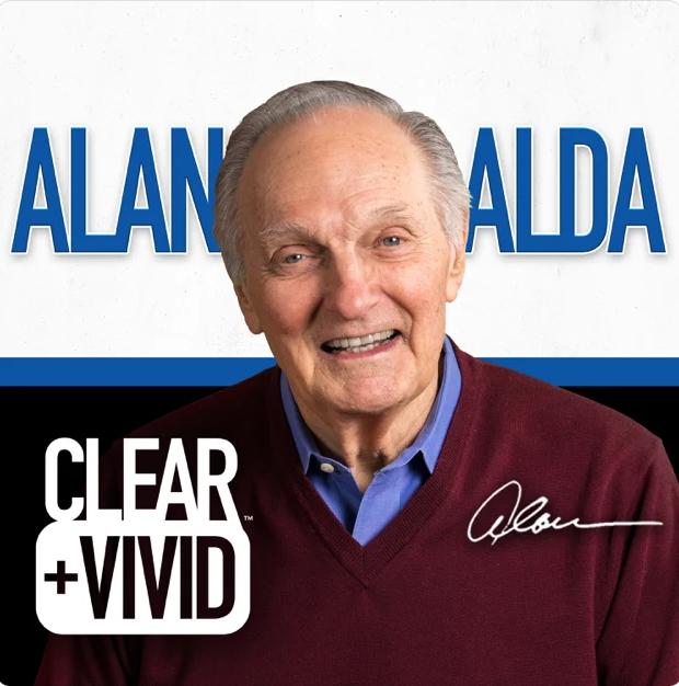 Clear & Vivid with Alan Alda